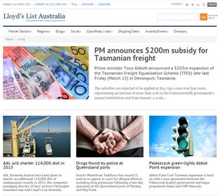 Other Informa Bus in Au: Lloyd's List Australia