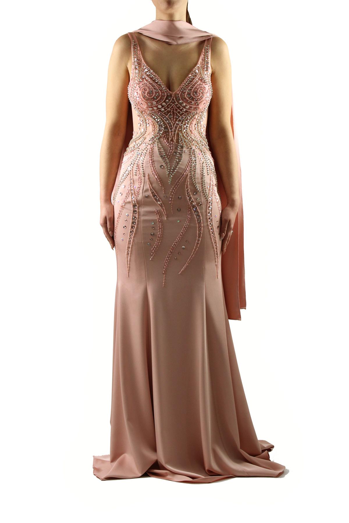 the latest 07c70 11a9f Abito rosa quarzo elegante