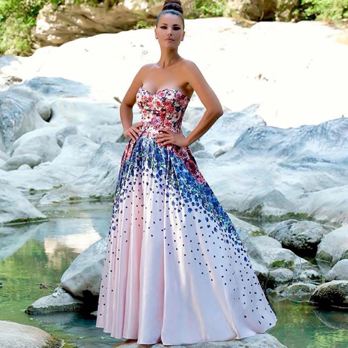 e683988bd599 Sweetheart neckline dress - ANTONIO NOTARO - Intrighi Griffe