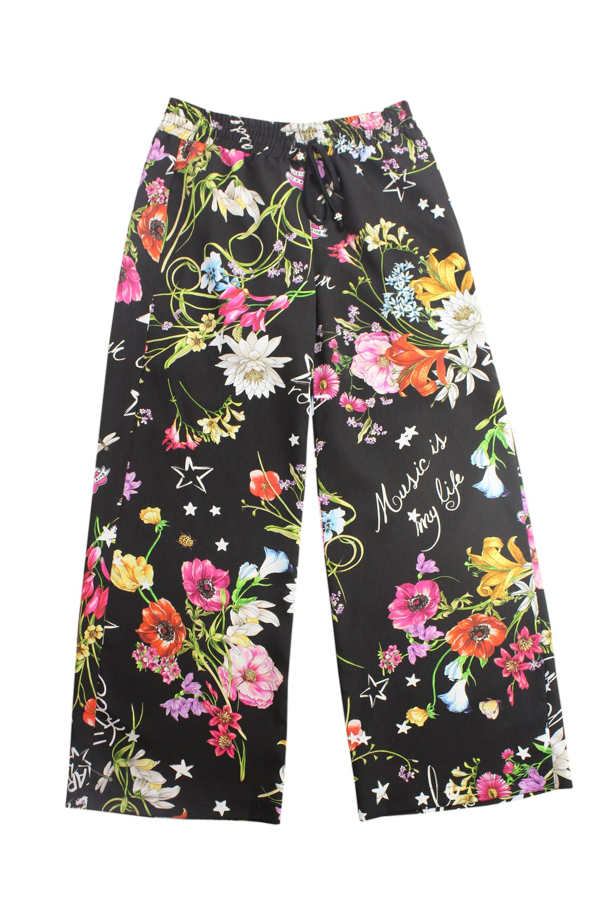 wholesale dealer 192af 23a4c Pantalone a palazzo floreale - ELSY - Intrighi Griffe