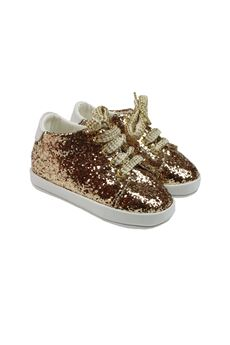 Baby sequin shoe BABY CHIC | 12 | 804ORO