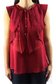 Pleated shirt HEFTY | 6 | 2736BORDEAU