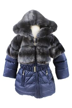 Duvet jacket with fur ELSY | 13 | DIKSONBL