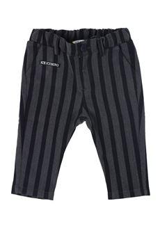Pantalone a righe ICEBERG | 9 | PTICE107BMUN