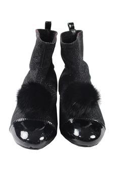 Boots with pon pon OCA OCA | 76 | 704606NERO
