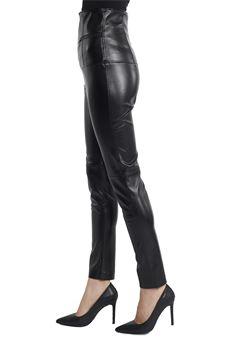 Pantaloni effetto pelle a vita alta ALMAGORES | 9 | 25023UN