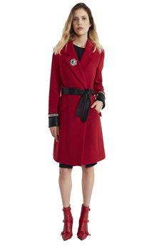 Cappotto monopetto in panno di lana ALMAGORES | 17 | 35005UN