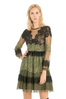 Short dress with lace details FRACOMINA | 11 | FR18FMBLANCHEUN
