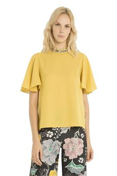 Short sleeve Blouse FRACOMINA | 6 | FR18FP500GI