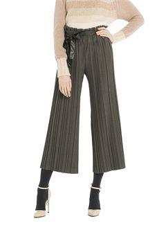 Pantalone a balze scampanato FRACOMINA | 9 | FR18FP663GR