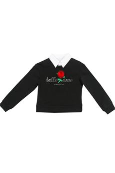 Red rose sweatshirt FUN FUN | -108764232 | FNBST0542UN