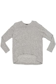 Maxi sweater in wool FUN FUN | 5032244 | FNJSW0695UN