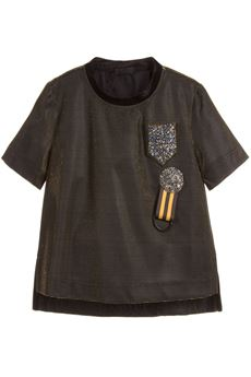 Girls Metallic Green T-Shirt FUN FUN | 8 | FNJTS0700UN