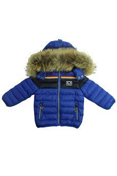 Jacket with fur hood ICEBERG | 13 | GBICE309B ABL