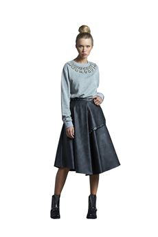 Wide ankle skirt J