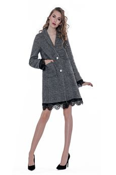 Cappotto principe di galles NO SECRET | 17 | 183NS300UN