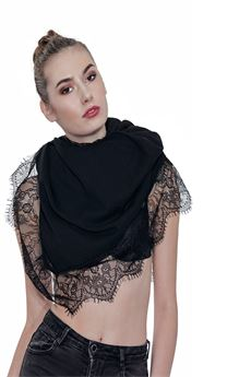 Pashmina bordo pizzo NO SECRET | 30000049 | 183NS414NE
