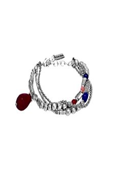 Bracelet with colored stones SULTAN | 36 | 6402UN