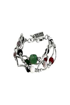 Bracelet with colored stones SULTAN | 36 | 6435UN