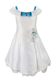 Dress ceremony boat neck COLORICHIARI | 11 | FJ109991926BIA