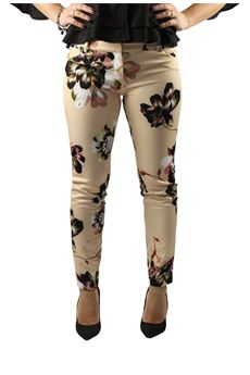 Pants with flowers BETTY BLUE | 9 | PA0413654191
