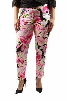 Pantalone fiori ANNA RACHELE | 9 | 298UN