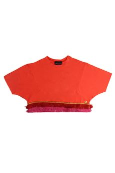 Short sweatshirt with fringes FANFRELUCHES | 7 | SULTANOUN