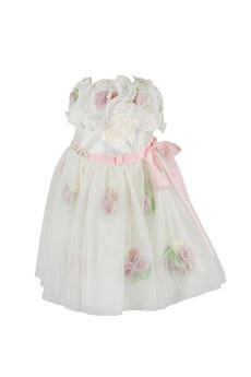 Dress ceremony with flower LADIA | 11 | 2258UN