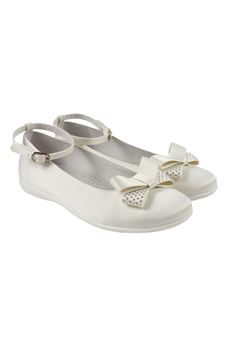Shoes with bow COLORICHIARI | 12 | FJ9521951744BIANCO