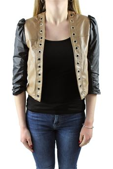 Faux leather jacket two-tone ALMAGORES | 3 | 30002UN