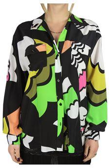 Fluorescent abstract shirt ANNIE P | 6 | CA BIKEUN