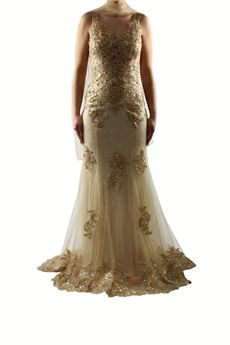 Elegant gold dress BACI STELLARI | 11 | BS0421UN