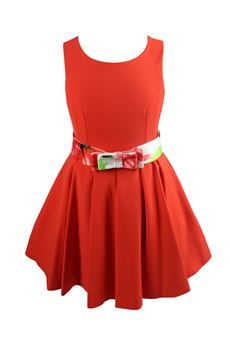 Wide dress COLORICHIARI | 11 | FJ1028032782ROSSO