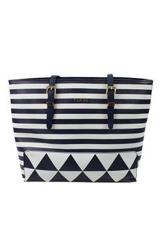 Striped bag VERDE | 31 | 16 42081315UN