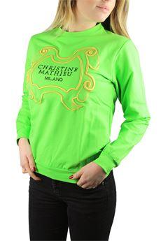 Sweatshirt CHRISTINE MATHIEU | -108764232 | CM16M208FL