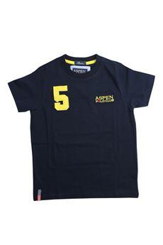 T-shirt ASPEN POLO CLUB   8   M0031BL