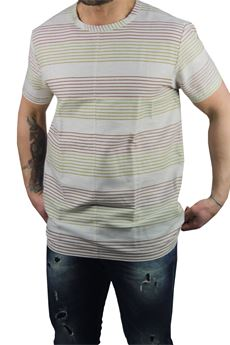 Striped T-shirt BESILENT | 8 | BSMA0176BE