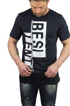 T-shirt logo BESILENT | 8 | BSTS0118BL