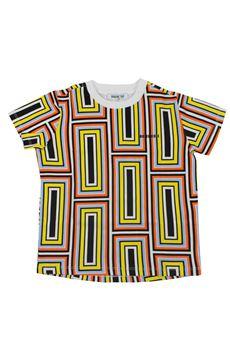 T-shirt geometrica BIKKEMBERGS   7   18EDNMTE5512BI