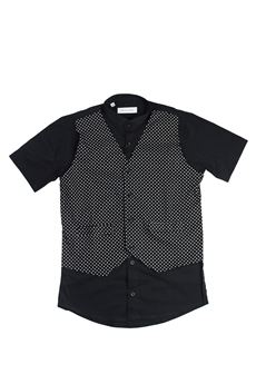Shirt with fake waistcoat BRIAN RUSH | 6 | 1812080UN