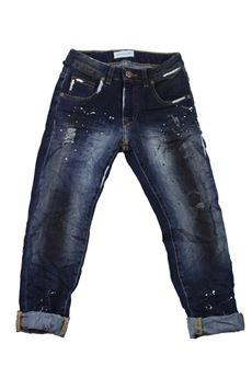 Jeans pittura BRIAN RUSH | 24 | DENIM01UN