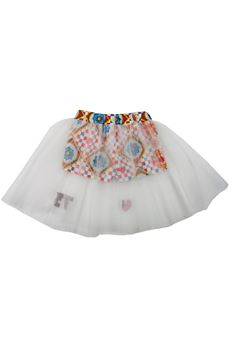 Shorts with tulle skirt Byblos | 30 | BJ11659UN