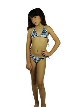 Bikini triangolo a strisce DOLCERIVA | 85 | C86008UN