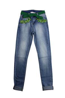 Jeans vita alta FANFRELUCHES | 24 | KANTUN