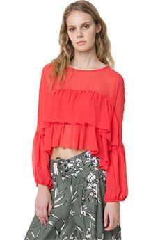 Bohemian style blouse FRACOMINA | 6 | FR18SM012ME