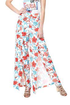 Wide leg pants printed FRACOMINA | 9 | FR18SM086PA