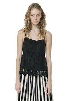 Sleeveless lace top FRACOMINA | 40 | FR18SM548NE