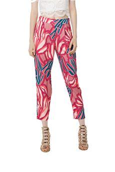 Pantaloni fantasia alle caviglie FRACOMINA | 9 | FR18SMGINGERFA