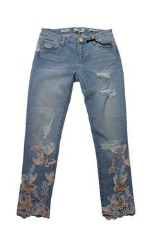 Butterflies jeans FRACOMINA | 24 | FR18SMJEDITH19UN