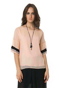 T-shirt oversize FRACOMINA | 6 | FR18SMVIOLANTERO